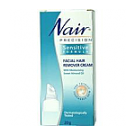 Nair Precision Facial Hair Remover Cream Sensitive 20g