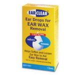 Ear Clear Wax Removal Liquid 12 ml