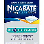 Nicabate Patch Clear 21mg 7 Days