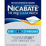 Nicabate Patch Clear 14mg 7 days