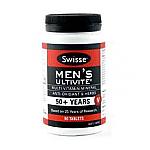 Swisse Men's 50+ Ultivite 90 Tablets