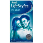 ANSELL LIFESTYLES LARGE 12