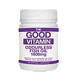 The Good Vitamin Odourless Fish Oil 1000mg 90 Caps