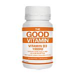 The Good Vitamin Vitamin D3 1000IU 30 Caps