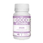 The Good Vitamin Iron 30 Tabs