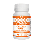 The Good Vitamin Calcium Plus D 30 Tabs