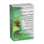 Pharmacy Health Paracetamol Infant Drops 1MTH - 4YRS 20ml