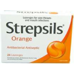 Strepsils Lozenges Orange 16