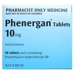 Phenergan 10mg Tablets 50