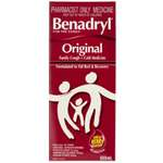 Benadryl Original Cough Medicine 200mL (S3)