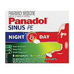 Panadol Sinus PE Night & Day 24 Tablets