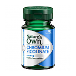 Nature's Own Chromium Picolinate 400mcg Tablets 200