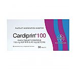 Cardiprin 100mg Tablets 30