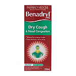 Benadryl PE Dry Cough & Nasal 200ML