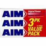 Aim Toothpaste Original 3 Pack