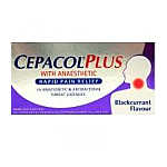 Cepacol Plus Blackcurrant Lozenges 16