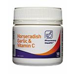 Pharmacy Health Horseradish, Garlic & Vitamin C Tab 100