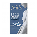 Nads Mens Body Wax Strips 20