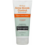 Neutrogena Acne Stress Control Oil Free Cream Wash 177ml