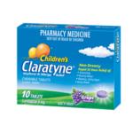 Claratyne Childrens Chewable Tablet 10