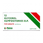 Glycerol Suppository Adult Petrus 12
