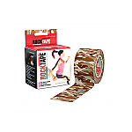 Rocktape 5cm x 5m Camo Brown