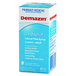 Demazin Colour Free Cold Relief 100ml
