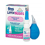 Fess Little Noses Saline Nose Spray + Aspirator