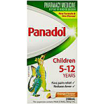 Childrens Panadol Suspension 5-12 Yrs Colour-Free Orange 200ml