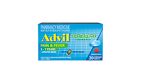 Advil Childrens 2-7 years Chewable Tablets 20