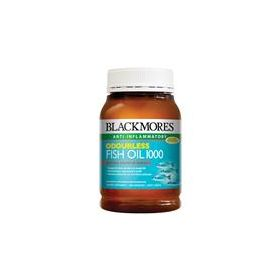 Blackmores Fish Oil 1000mg Odourless 200 Capsules