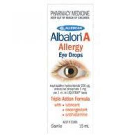 Albalon A Allergy Eye Drops 15mL