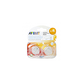AVENT SOOTH TRANS 6-18MTH 2PK
