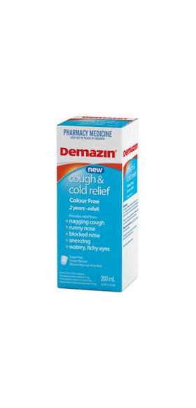 Demazin PE Cough & Cold 200ML